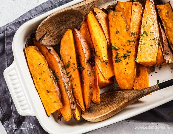 Картофельный гратен с фаршем и паприкой