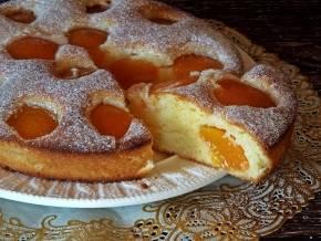 Нежный абрикосовый пирог