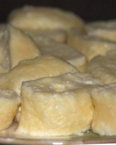 Ленивые вареники из творога для детей: рецепт с пошаговыми фотографиями