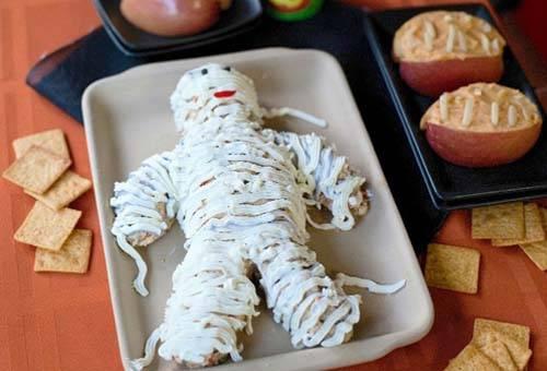 Поделка изделие мумия к празднику halloween проволока ткань