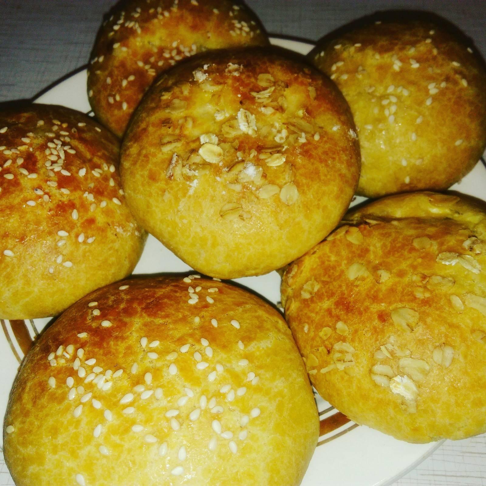 Булочки сырные с чесноком