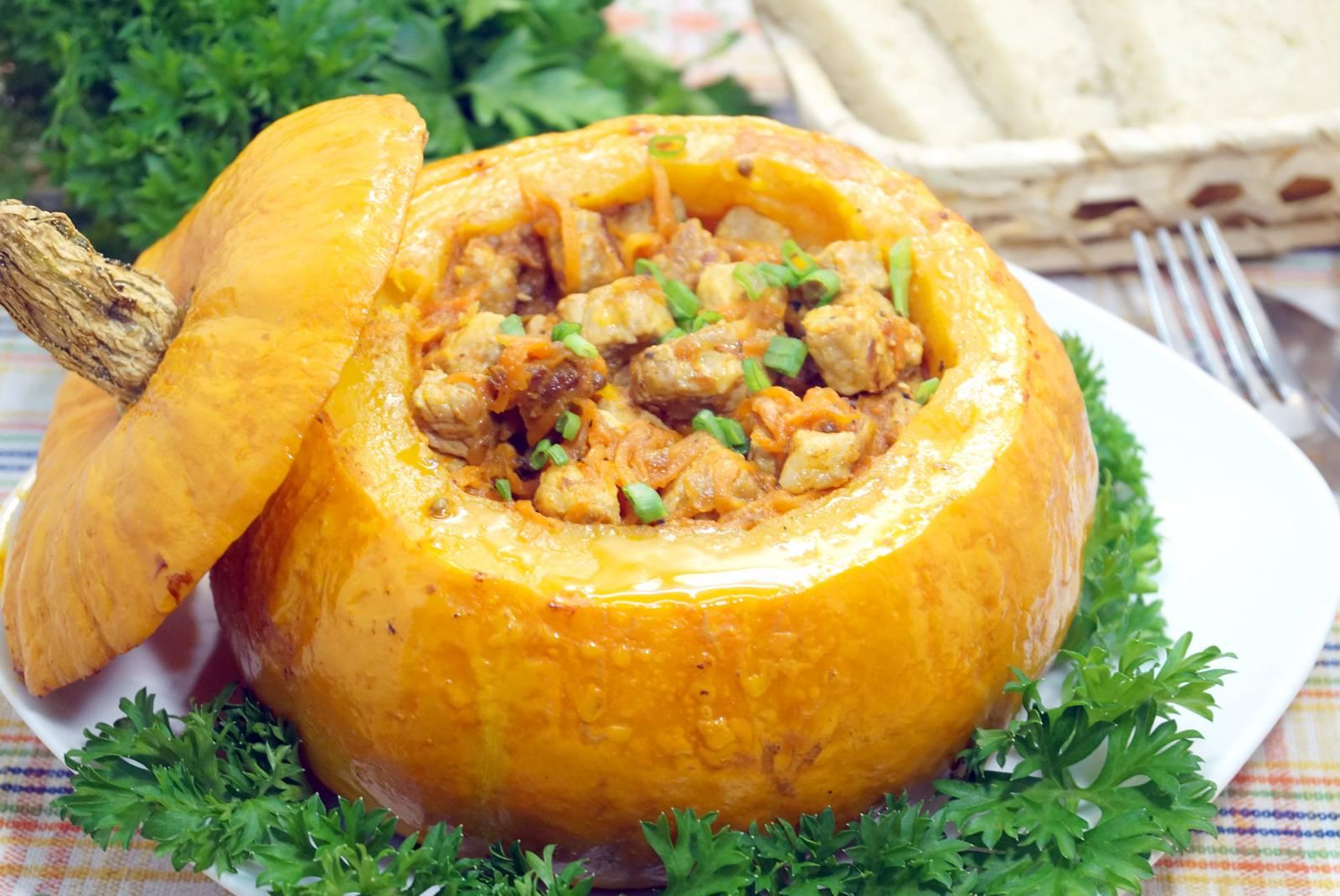 Пошаговые рецепты запеченной в духовке вкусной тыквы