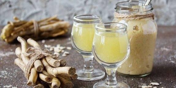 Хреновуха рецепты на самогоне — классический, с медом, лимоном, имбирем, хреном