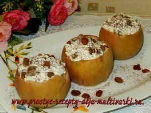 Печёные яблоки в мультиварке