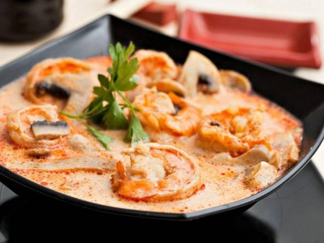 Как сварить том ям - острый тайский суп с лемонграссом