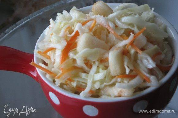 Барыня-сударыня. маринованная капуста с яблоками – польза для вашего пищеварения