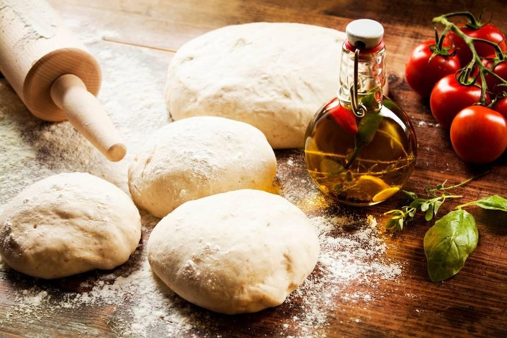 Как сделать тесто для пиццы из 2-х ингредиентов