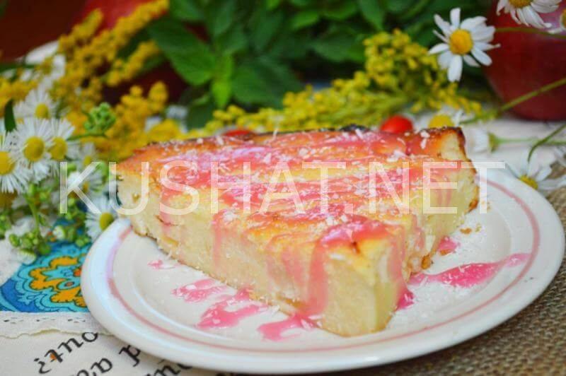 Запеканка из тыквы с манкой в духовке - простое и очень полезное блюдо для всей семьи!