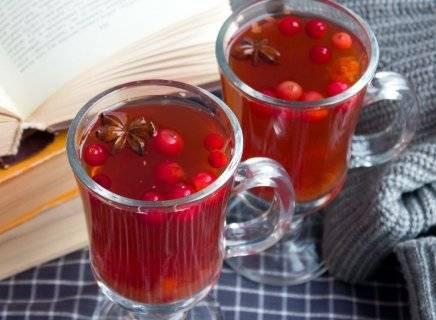 Рецепт чая с имбирем. согревающий пряный чай с имбирем и клюквой