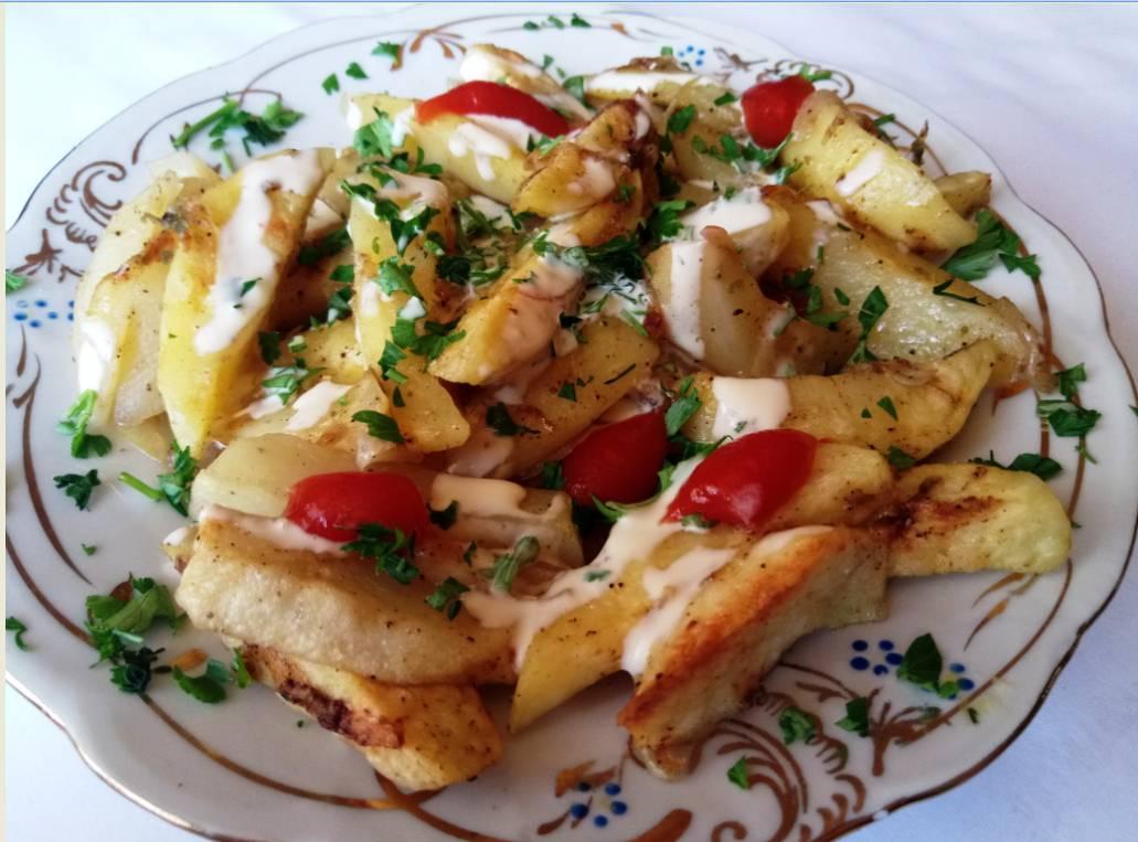 Закуска из картофеля: пошаговый рецепт с фото
