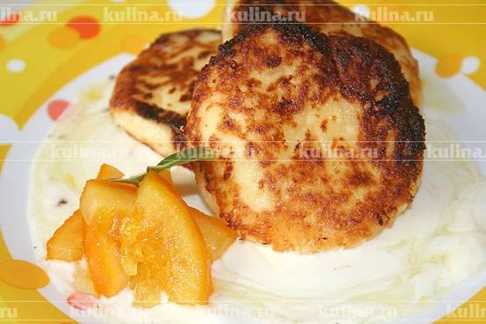 Апельсиновые сырники: стоит попробовать