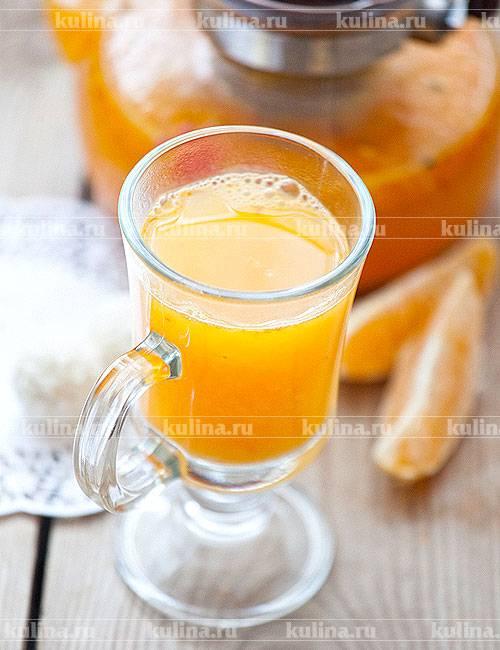 Рецепты чая с имбирем и апельсином