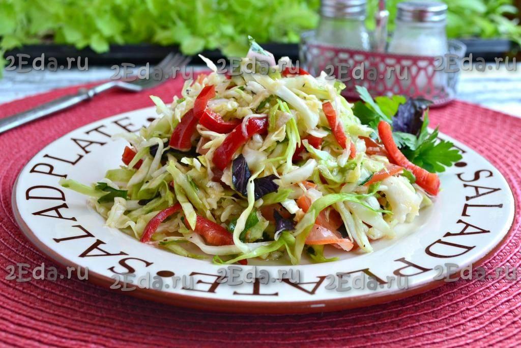 Рецепт зеленого салата - 15 пошаговых фото в рецепте