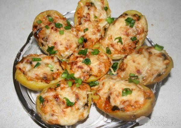 Картофельные лодочки