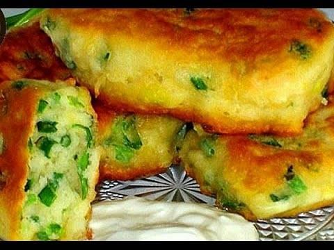 Картофельные оладьи из картофельного пюре с сыром пошаговый рецепт