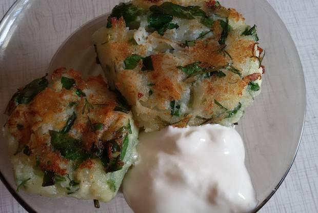 Картофельное пюре с сыром: рецепт с фото