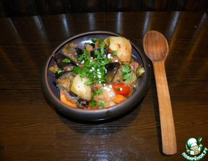 Рецепт соте из кабачков