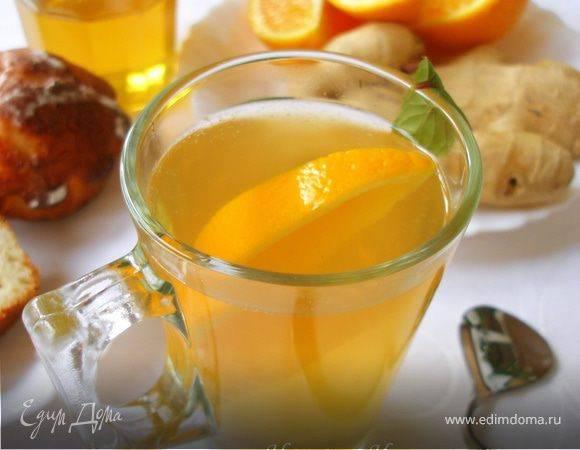 Домашний чай с апельсином рецепт приготовления