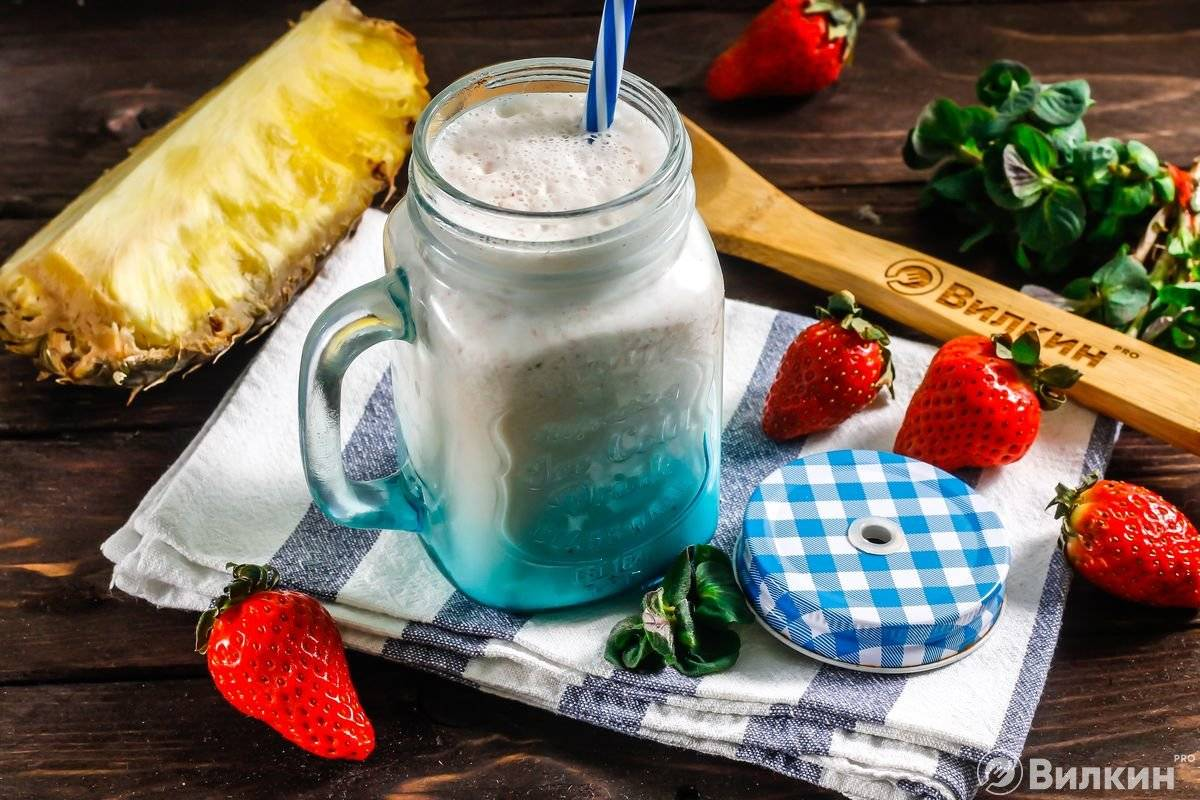 Настоящий и вкусный молочный коктейль в домашних условиях