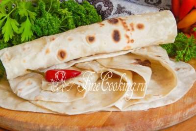 Лаваш в домашних условиях - лучшие рецепты кавказской кухни