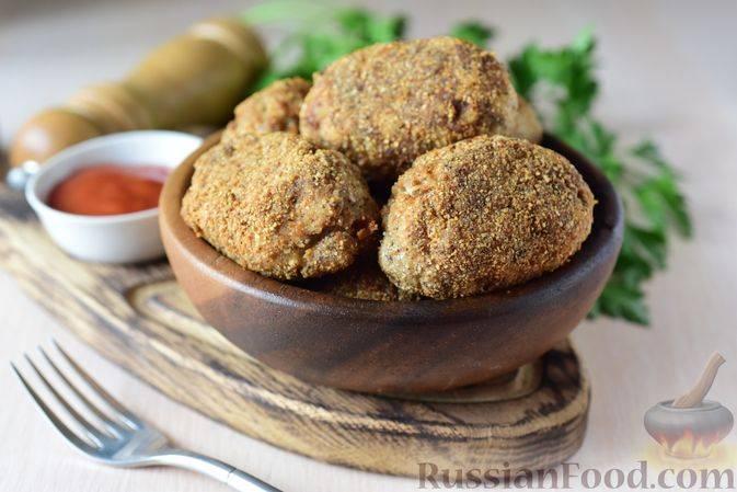 Котлеты из скумбрии - пошаговый рецепт с фото на сайте банк поваров