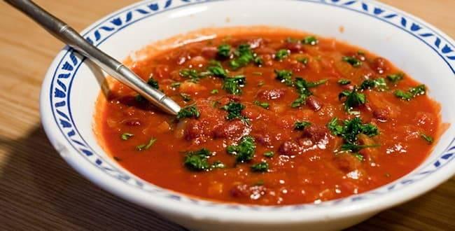 Густой фасолевый суп