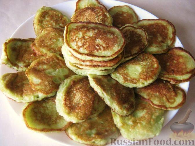 Оладьи из кабачков - 10 самых вкусных рецептов с фото пошагово
