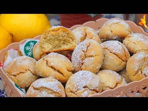 Итальянское лимонное печенье - красиво, вкусно и легко