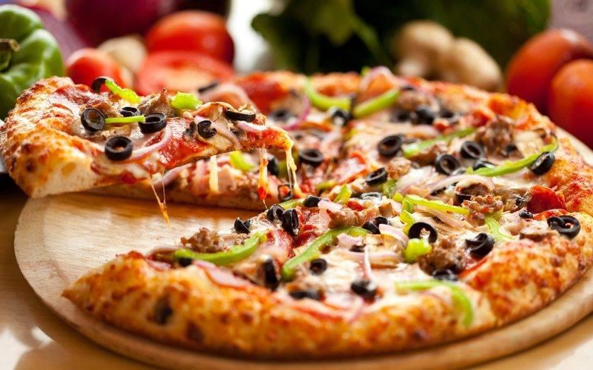 """""""пицца"""" в рожке"""