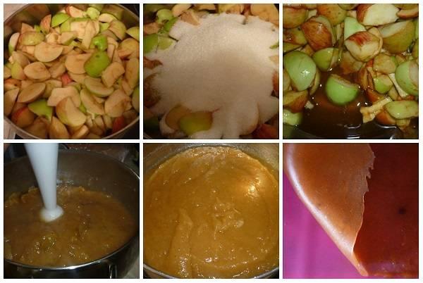 Пастила из яблок в домашних условиях: простой рецепт с фото пошагово