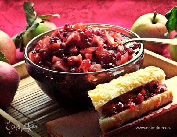 Брусничное варенье с яблоками – неповторимое сочетание ягод и фруктов. лучшие рецепты брусничного варенья с яблоками