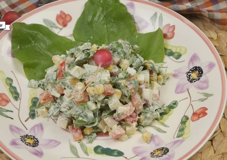Салат с плавленным сыром - 79 домашних вкусных рецептов приготовления