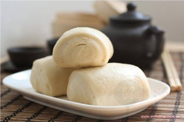 Сладкие паровые булочки по-китайски