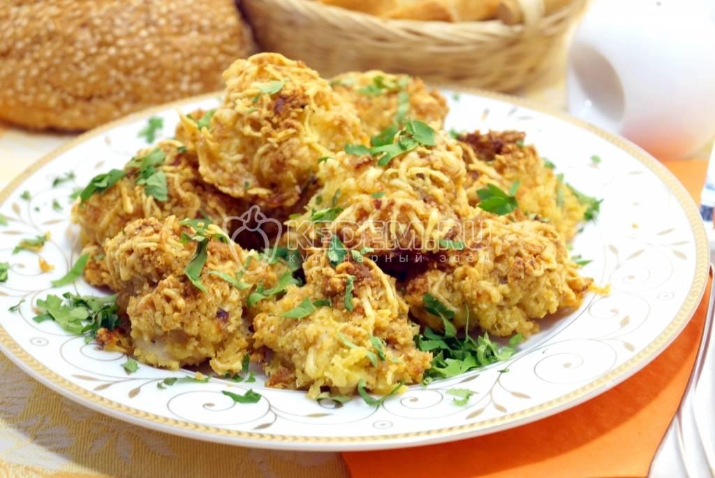 Куриное филе в сырной панировке - 8 пошаговых фото в рецепте