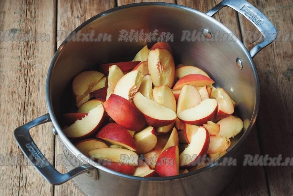 Как приготовить персиковый сорбет из 2-х ингредиентов