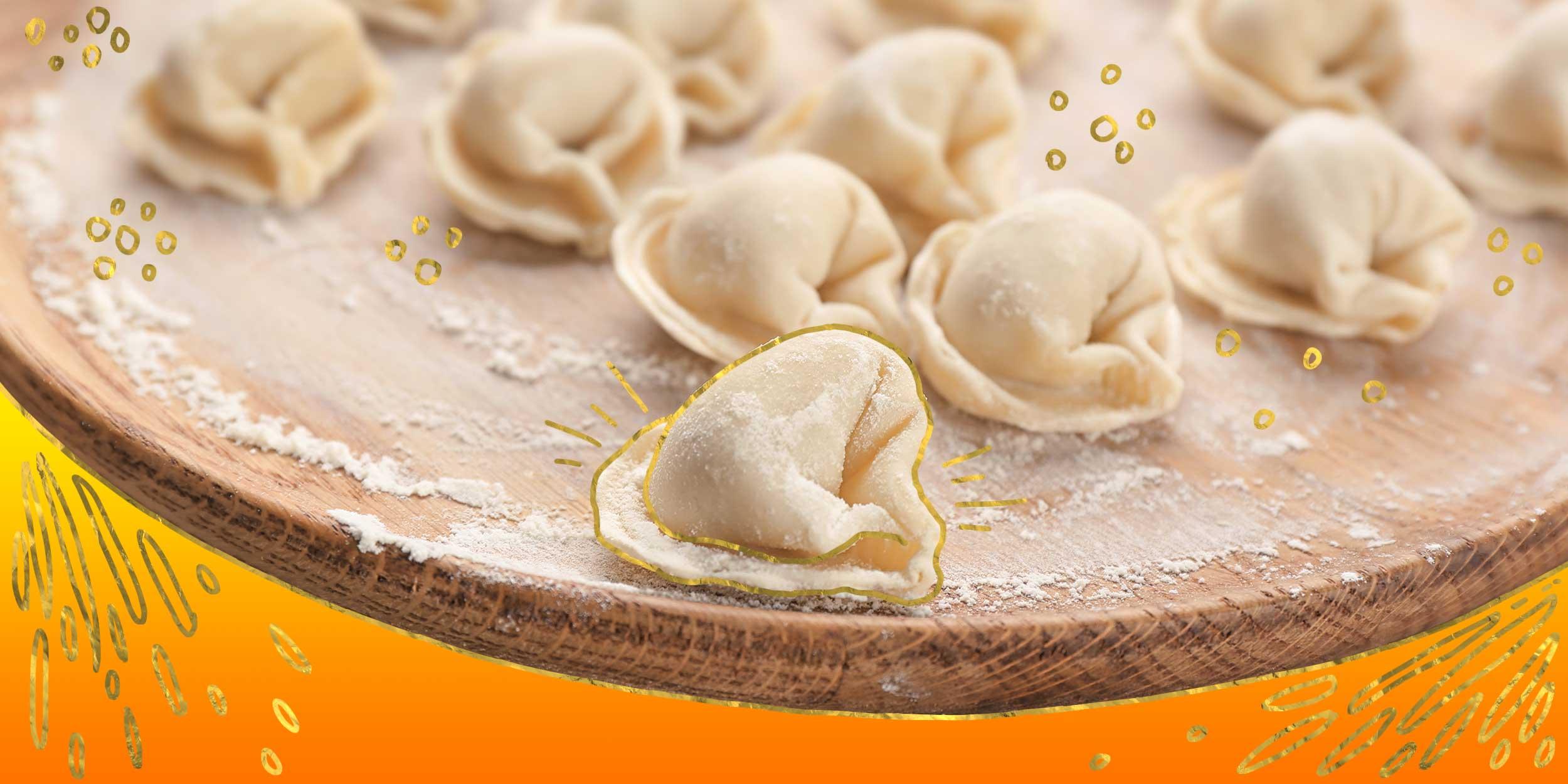 Заварное тесто для пельменей - универсальный рецепт пошагового приготовления с фото и видео