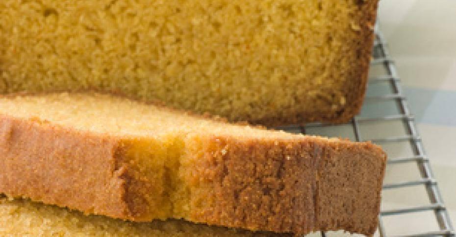 Домашний кукурузный хлеб за 35 минут
