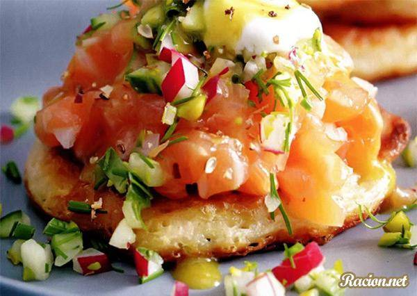 Тартар из лосося — лучшие рецепты