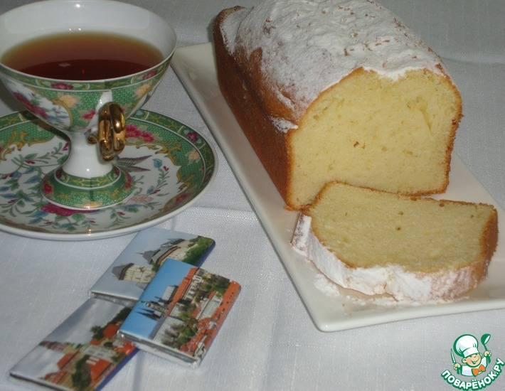 Кекс закусочный на сыворотке