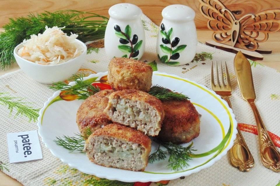 Зразы детям «весёлые ёжики» - рецепт приготовления