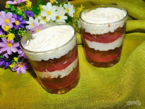 Рецепт желе из фруктов, ягод, сока, варенья и молока