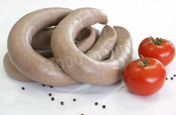 Печеночная колбаса: рецепт и фото