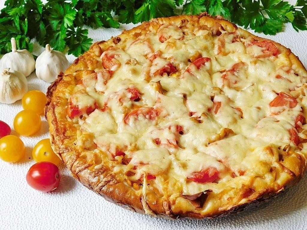 Пицца с курицей и грибами: фото, пошаговые рецепты, как приготовить вкусные домашние блюда