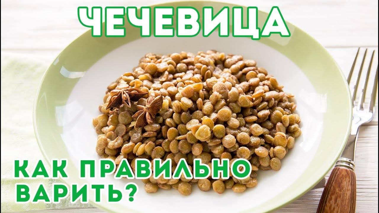 Каша из чечевицы — интересный рецепт готовки