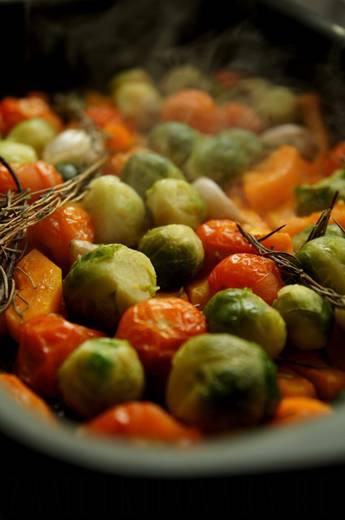 Брюссельская капуста в духовке - вкусный гарнир на скорую руку