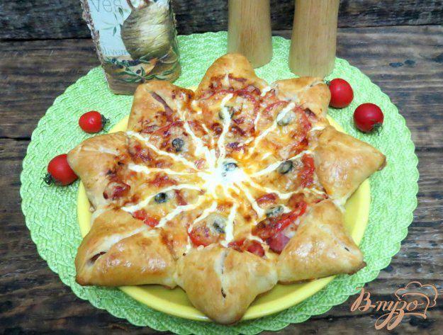 Маффины с ветчиной, сыром и помидорами