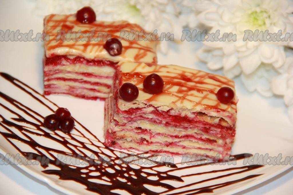 Торт слоеный - рецепт с фотографиями - patee. рецепты