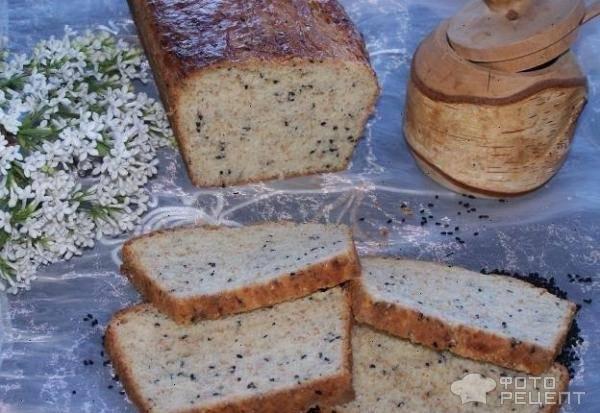 Бездрожжевой хлеб с отрубями и пряностями