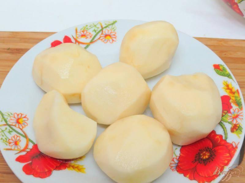 """Картофельно-грибная запеканка под овощной """"черепицей"""""""