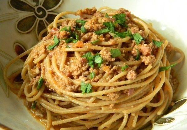 Спагетти - рецепты